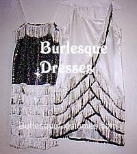Burlesque Fringe Dresses
