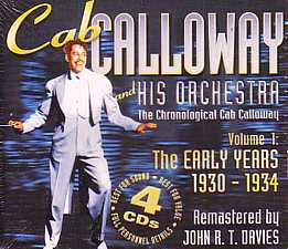 Cab Calloway The Early Years