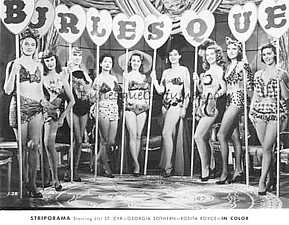 Burlesque Inspiration vintage photos and books