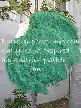 Sally Rand Ostrich Feather Fans