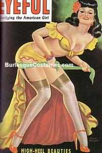 Pin-up Girl Clothing Burlesque Costume